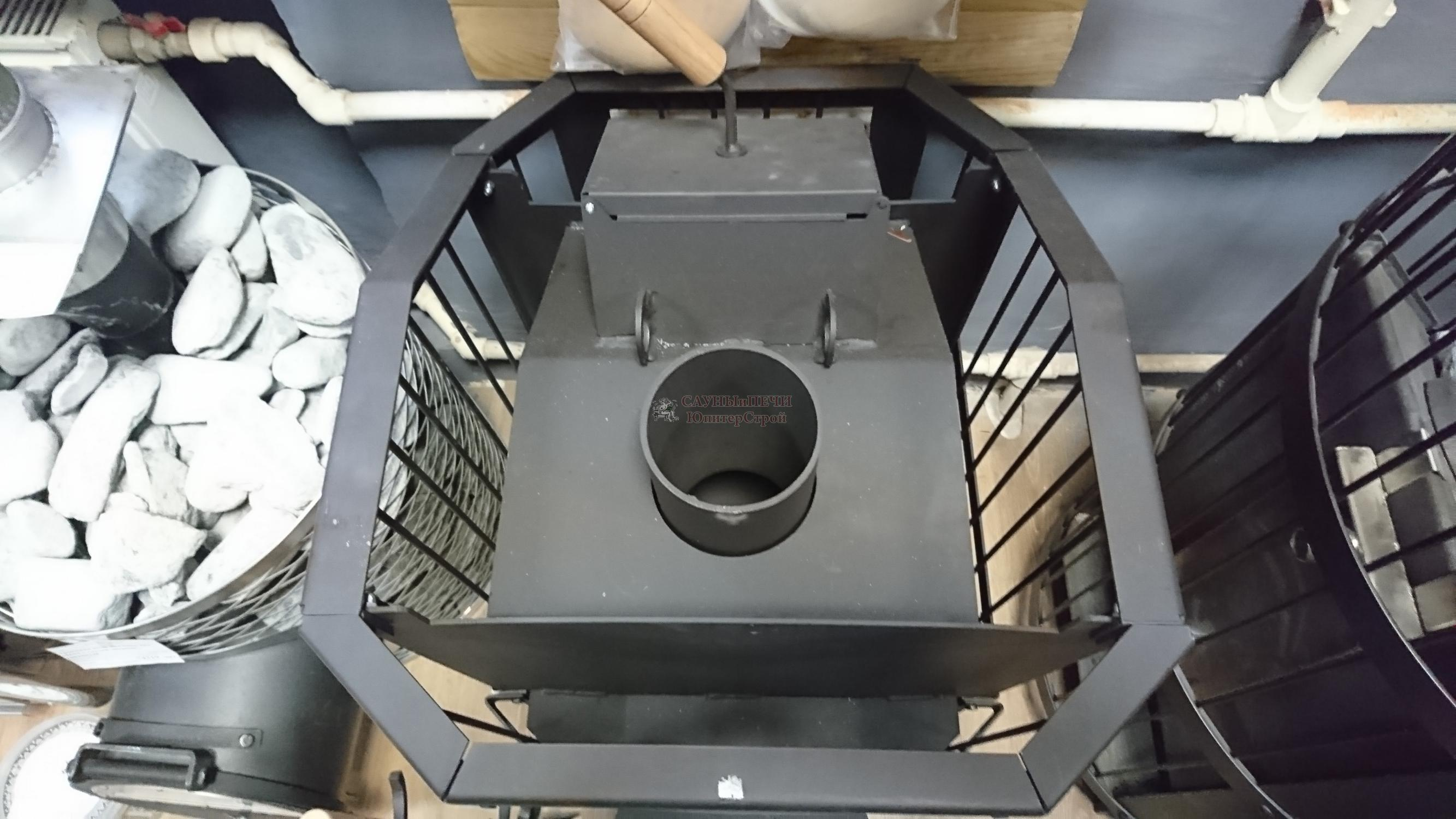 Дровяная печь для бани КИРАСИР ATMOS 15 INTRO