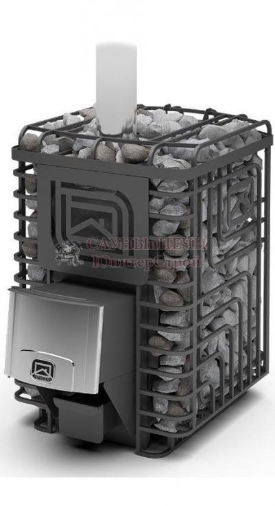 Печь дровяная для бани Теплодар  С�Б�РСК�Й УТЕС-20 ЛП Профи,  4607151293372