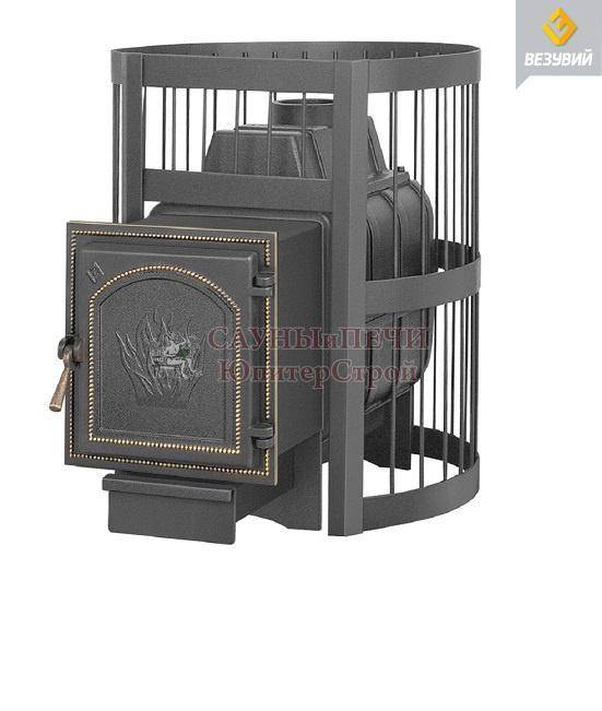 Дровяная печь для бани Везувий Легенда Стандарт 16 (271)