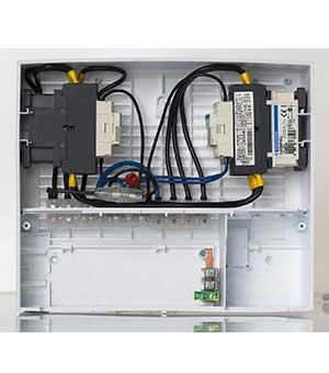 FASEL установочная коробка для панелей GLASS, FCU-BOX-UP-WA-DESIGN-GLAS