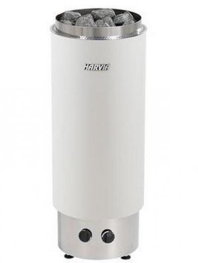 Электрическая печь для сауны Harvia Cilindro PC90VF White, белая, HPC900400VF