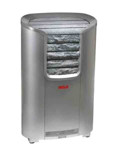 HELO Электрическая печь для сауны напольной установки CAVA 6 DEТ 6 кВт, хром, мультинапряжение, артикул 002858, зНН06695