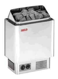 HELO Электрическая печь для сауны настенной установки CUP 45 D 4,5 кВт, хром, артикул 003666, зНН06728