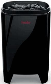 HELO Электрическая печь для сауны настенной/напольной установки FONDA Duo 4.4-6.6 кВт с пультом T2, чёрная, артикул 001802, зНН06505