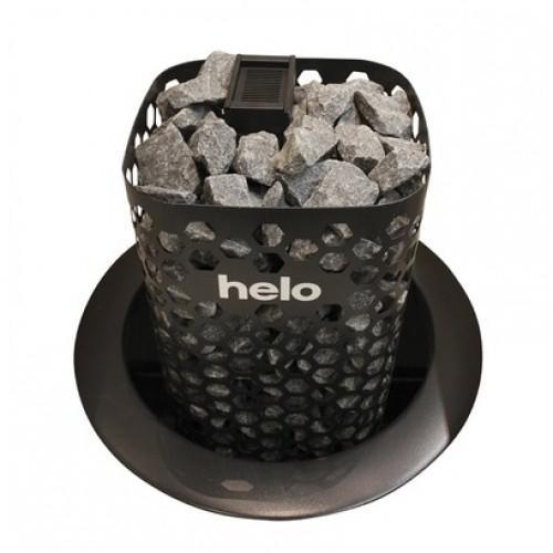 HELO Электрическая печь HiMALAYA 1051 DE multivoltage 10.5 кВт (9-15 м3) , с пультом Midi арт.001910 цвет-чёрный