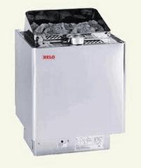 HELO Комбинированная печь с парогенератором KLIMA VITA 60 6 кВт, антик серебро, зНН03887