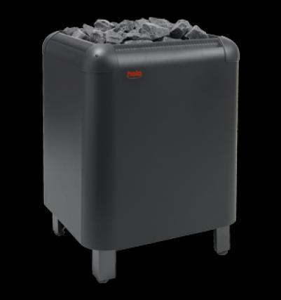 HELO Ёлектрическа¤ печь дл¤ сауны напольной установки LAAVA 1051 10,5 к¬т, нержавеюща¤ сталь + пульт DIGI II + блок WE4