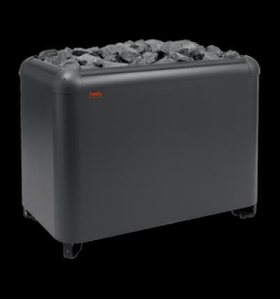 HELO Ёлектрическа¤ печь дл¤ сауны напольной установки MAGMA 210 21 к¬т, нержавеюща¤ сталь, зЌЌ01335