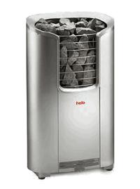 HELO Электрическая печь для сауны напольной установки ROXX 6 DE 6 кВт, матовая нерж. cталь, зНН03876