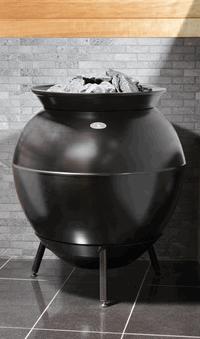 HELO Электрическая печь для сауны напольной установки TAIKA 100, 10 кВт, черный , зНН04983