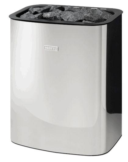 Narvi Электрическая печь для сауны ELECTRO 600 белая, RST нержавеющая сталь