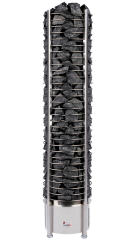 SAWO Электрическая печь для сауны TOWER TH6-120Ni-P без пульта управления