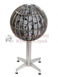 Электрическая печь для сауны Harvia Globe GL110 d=500 мм в комплекте с пультом управления, блоком мощности и датчиком температуры, артикул HGL110400,  6410082610921
