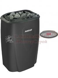 Электрическая печь для сауны Harvia Modern V45E-1 Black с выносным пультом в комплекте, зНН04215, 6417659015349