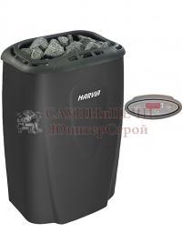 Электрическая печь для сауны Harvia Moderna  V60E-1 Black с выносным пультом в комплекте, HVE600230M , 6417659015356