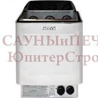 Электрическая печь для сауны Harvia Trendi KIP80T Steel со встроенным пультом, HBT800400