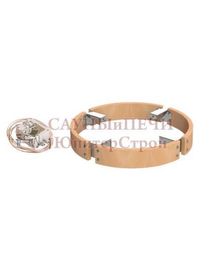 HARVIA Защитное ограждение для электрической печи Cilindro 6.8 / 9.0 кВт со светодиодной подсветкой, артикул HPC3L, HPC3L