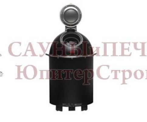 HELO Электрическая печь для сауны напольной установки SAUNATONTTU 6 6,4 кВт, черный, зНН01359