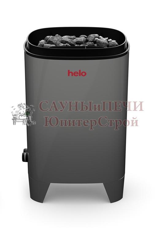 HELO Электрическая печь FONDA 800 DET GREY (цвет-серый) без пульта арт. 001816 8 кВт