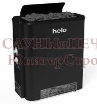 HELO Электрическая печь для сауны настенной/напольной установки HAVANNA 80 STS 8.0 кВт чёрная, артикул 005825, зНН07013