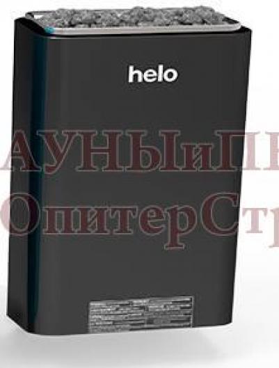 HELO Электрическая печь для сауны настенной установки VIENNA 45 STS 4.5 кВт синяя/черная/серая, артикул 000508, зНН07506