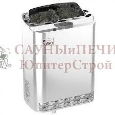 SAWO Электрическая печь для сауны MINI COMBI MNC-36NS-Z с парогенератором, кожух из нержавейки, внутри оцинковка , зНН01584