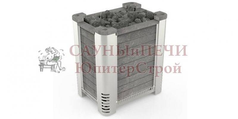 SAWO Электрическая печь для сауны ALTOSTRATUS ALTO-105N, облицовка - талькохлорид, вставки из нержавейки