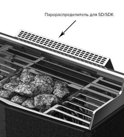 Электрическая печь для сауны Tylo SDK 10 1/3x230V, 3x400V(без пульта) , 64301009