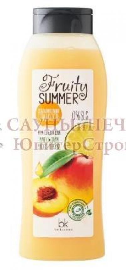 Крем-гель для душа Соблазнительная гладкость манго лайм масло персик 500 г