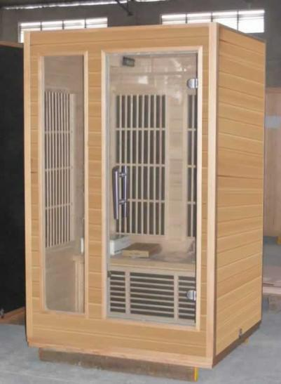 HARVIA �К кабина Radiant SGC1210BR двухместная с цветотерапией, хемлок внутри, снаружи орех, зНН04773
