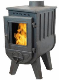 Чугунная печь Harry Flame ВАНКУВЕР, 8 кВт (AM25B) (Фьюджи)