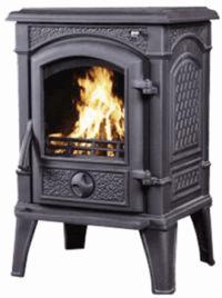 Чугунная печь Harry Flame Монреаль, 10 кВт.(АМ27-10)