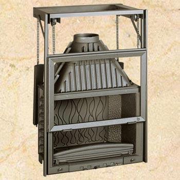 Топка Invicta Grand Vision 800 Ref.: 6886-44, (контргруз) 15 кВт