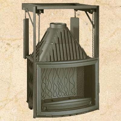 Топка Invicta Panoramique 800 Ref.: 6887-44, (контргруз) 15 кВт