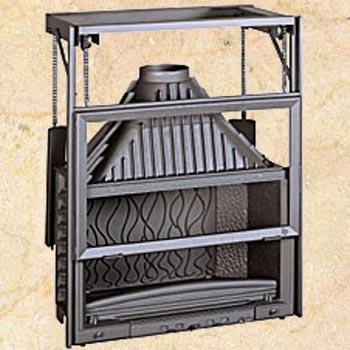 Топка Invicta Grand Vision 900 Ref.: 6890-44, (контргруз) 18 кВт