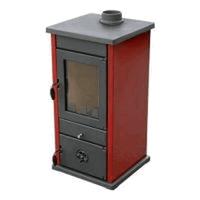 Печь MBS THERMO VESTA RED/BORDO  с теплообменником
