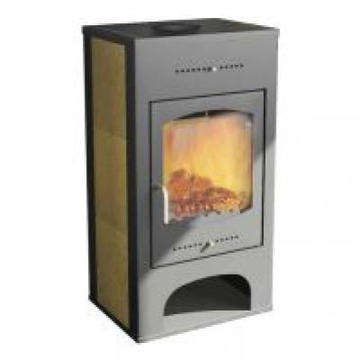 Мета Печь-камин Варта 9 кВт. (отопл. до 180 м3)