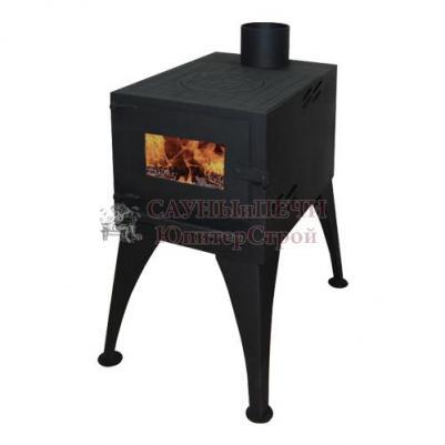 Печь-камин EcoKamin Кельн с плитой