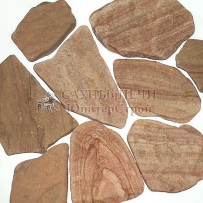 Камень ПЕСЧАН�К РОЗОВЫЙ (ГАЛТОВАННЫЙ)