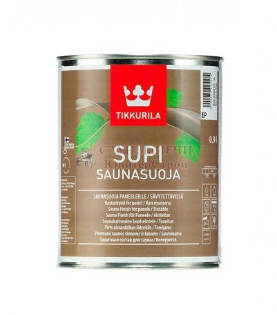 Защитный состав Tikkurila SUPI SAUNASUOJA EP 0.9л