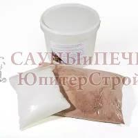 Клей для кладки плитки и кирпича из гималайской соли двухкомпонентный, 4 кг