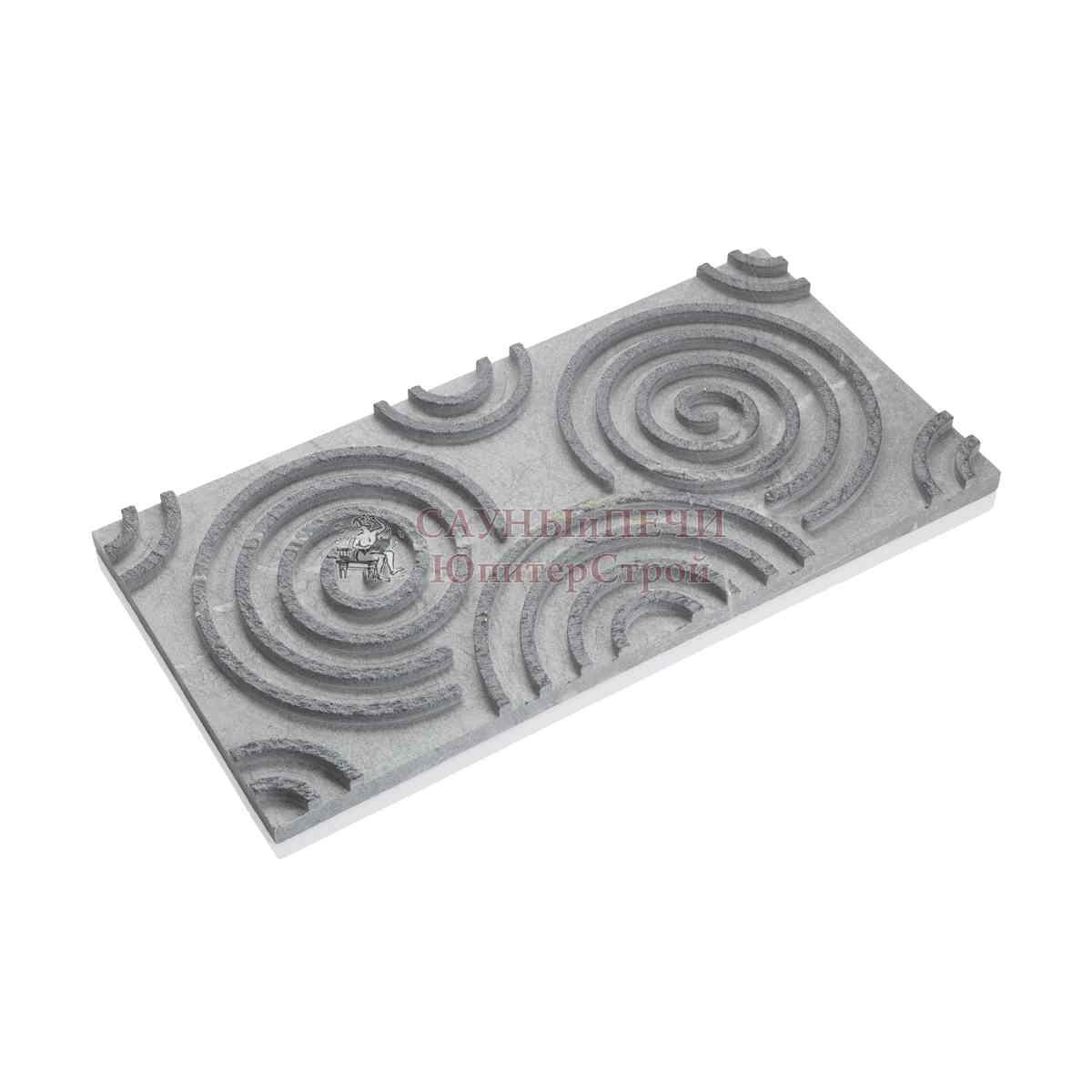 Новая 3D плитка из талькохлорида
