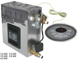 SAWO Парогенератор STP-35-1/2 в комплекте с пультом Innova и автоочисткой (3 доп. функции: свет, вентилятор, насос-дозатор), зНН05120