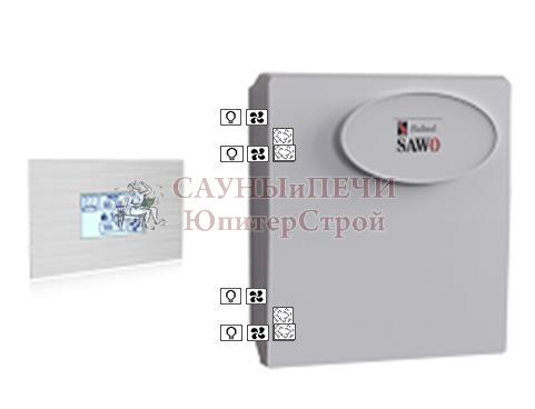 Пульт INT-S-SST, блок мощности Combi Sawo, INT-S-SET (Combi**)