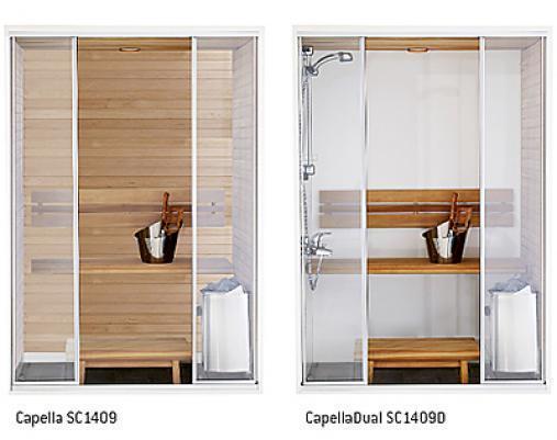 Harvia Сауна Capella с душем для ванны 1,4х,9, SC1409D