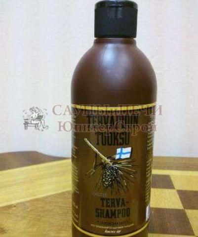 Шампунь дегтярный Terva shampoo 500 ml