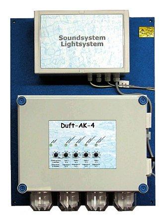 WDT Дозирующая станция Relax Module Duft AK4 (ароматизация, звук, световые эффекты)