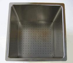 WDT Ванночка двойная, высококачественная нерж. сталь