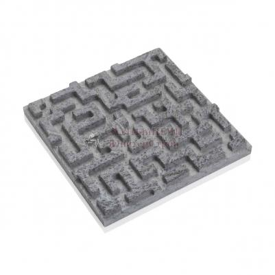 3D панель из талькомагнезита лабиринт 295х295