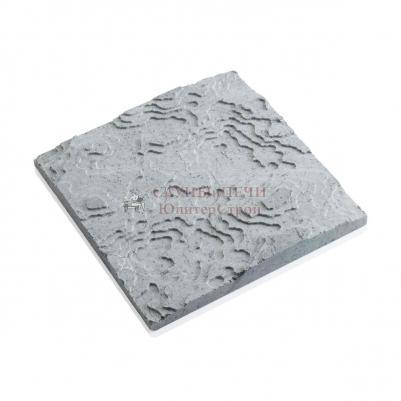 3D панель из талькомагнезита дикий камень 295х295